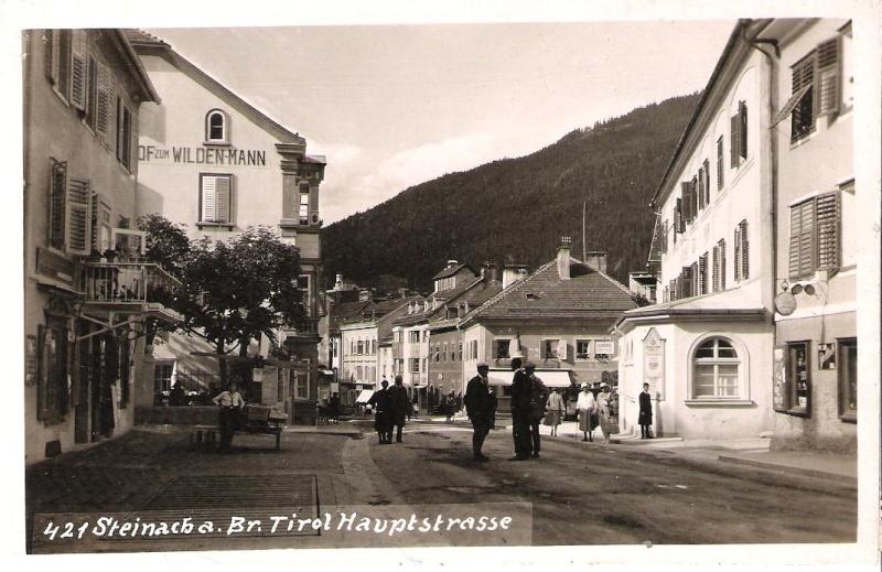 Alte Ansichten von Steinach - Mein Heimatort ganz nostalgisch Haupts10