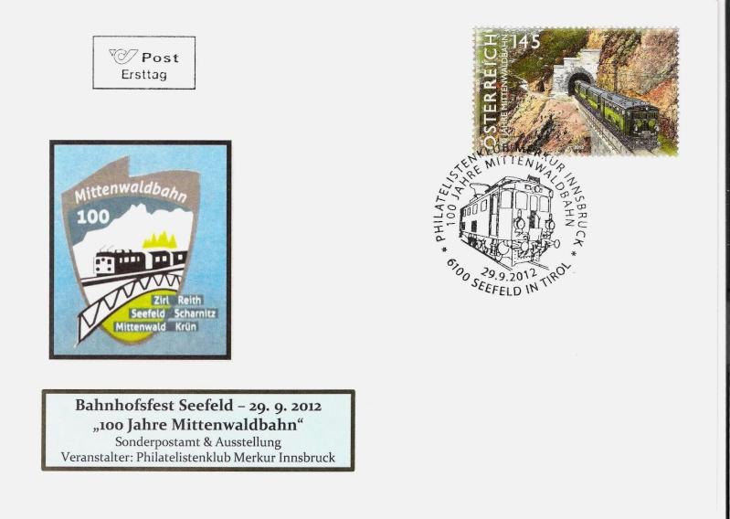 100 Jahre Mittenwaldbahn  Logo111