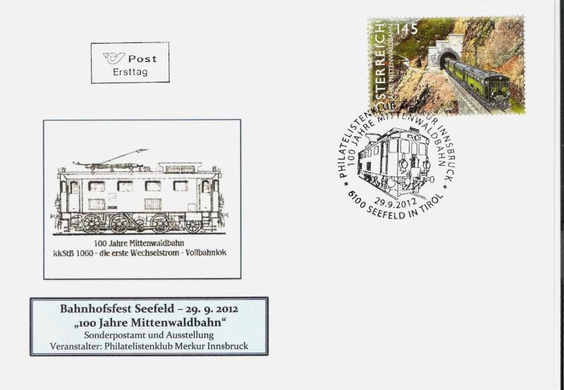 100 Jahre Mittenwaldbahn  Lok110