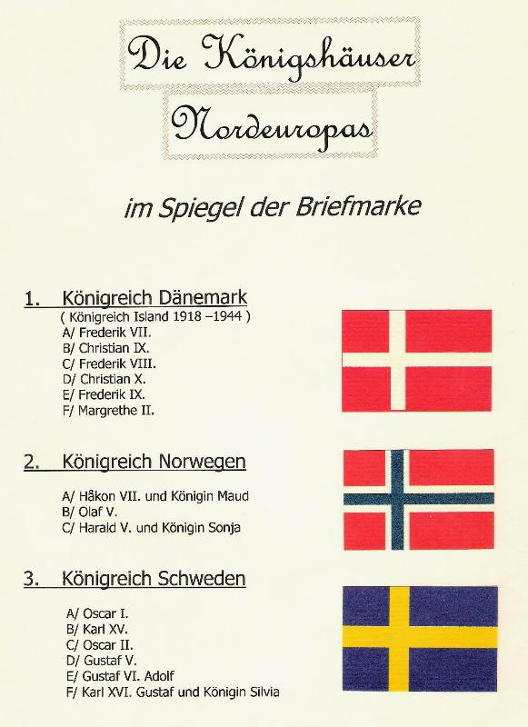 Nordische Königshäuser im Spiegel der Briefmarke Nordka10