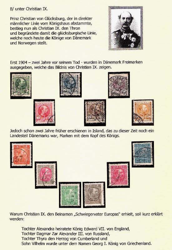 Nordische Königshäuser im Spiegel der Briefmarke Nordka13