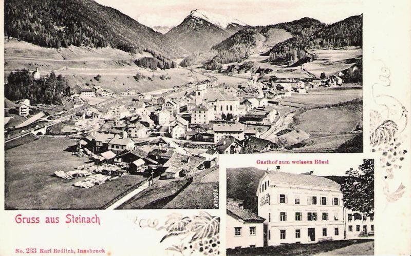 Alte Ansichten von Steinach - Mein Heimatort ganz nostalgisch Rassl110