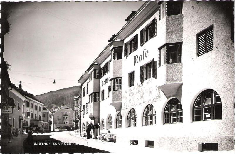 Alte Ansichten von Steinach - Mein Heimatort ganz nostalgisch Rose10