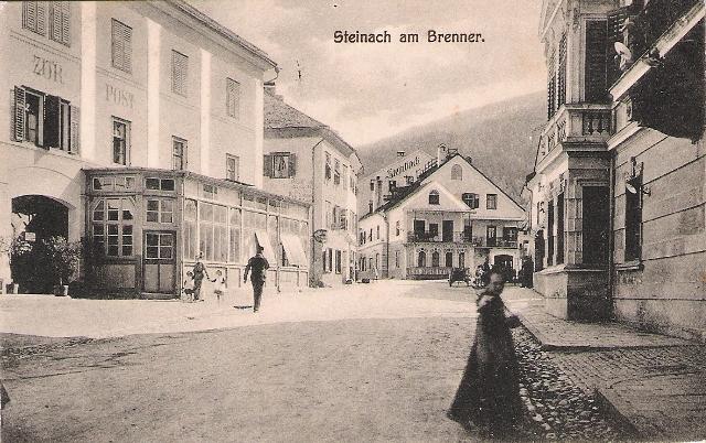 Alte Ansichten von Steinach - Mein Heimatort ganz nostalgisch Steina10