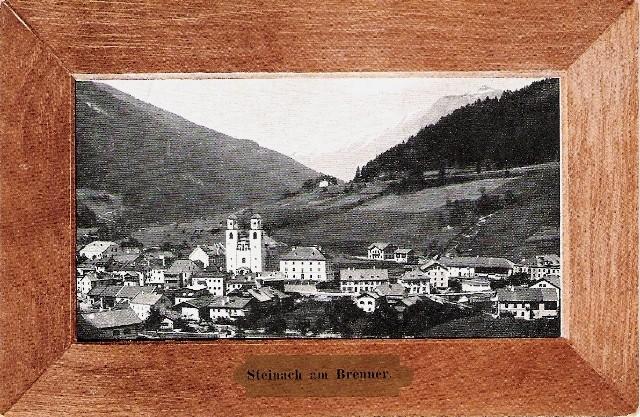 Alte Ansichten von Steinach - Mein Heimatort ganz nostalgisch Steina12