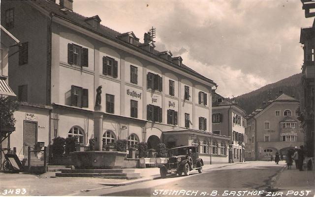 Alte Ansichten von Steinach - Mein Heimatort ganz nostalgisch Steina13