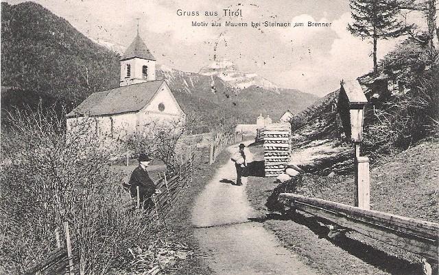 Alte Ansichten von Steinach - Mein Heimatort ganz nostalgisch Steina14
