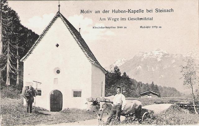 Alte Ansichten von Steinach - Mein Heimatort ganz nostalgisch Steina15