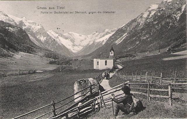 Alte Ansichten von Steinach - Mein Heimatort ganz nostalgisch Steina16