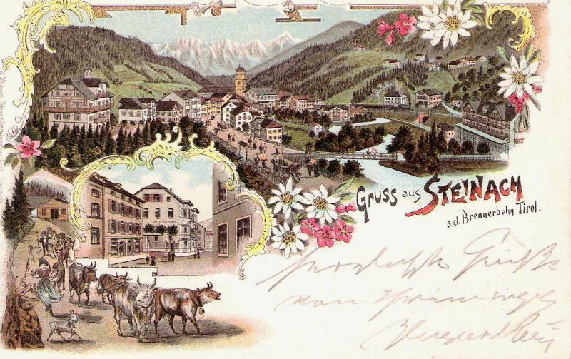 Alte Ansichten von Steinach - Mein Heimatort ganz nostalgisch Steina17