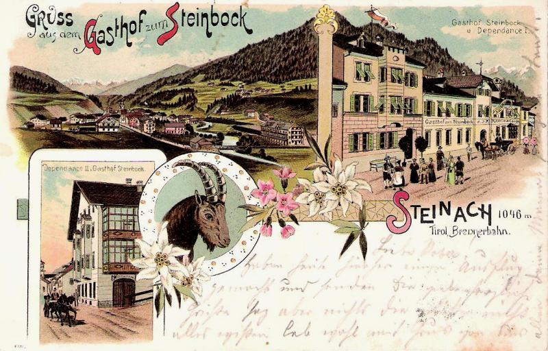 Alte Ansichten von Steinach - Mein Heimatort ganz nostalgisch Steina18