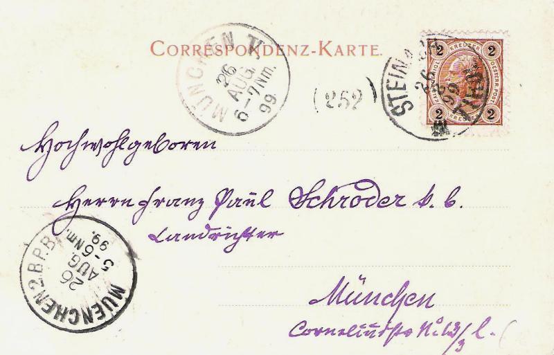 Alte Ansichten von Steinach - Mein Heimatort ganz nostalgisch Steina20