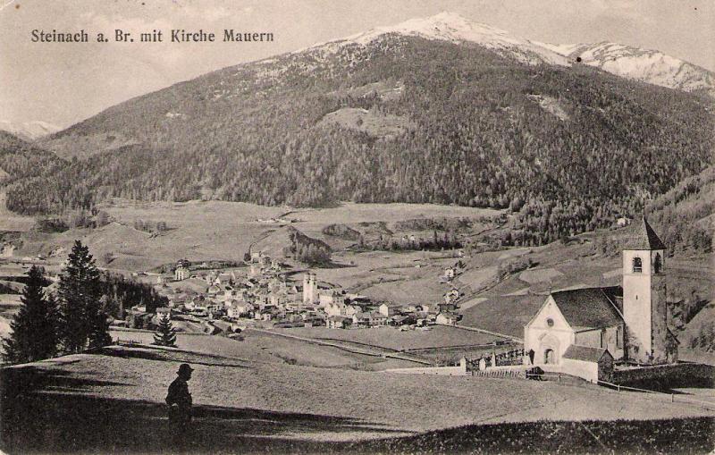 Alte Ansichten von Steinach - Mein Heimatort ganz nostalgisch Steina21