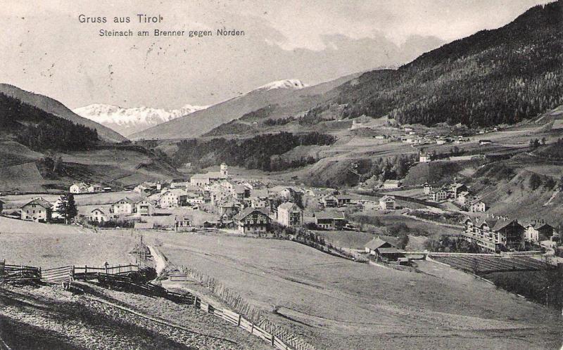 Alte Ansichten von Steinach - Mein Heimatort ganz nostalgisch Steina22