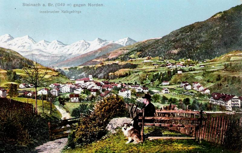 Alte Ansichten von Steinach - Mein Heimatort ganz nostalgisch Steina23