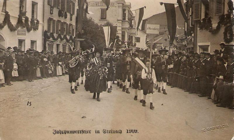 Alte Ansichten von Steinach - Mein Heimatort ganz nostalgisch Steina24