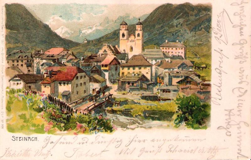 Alte Ansichten von Steinach - Mein Heimatort ganz nostalgisch Steina26