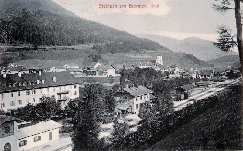 Alte Ansichten von Steinach - Mein Heimatort ganz nostalgisch Steina27
