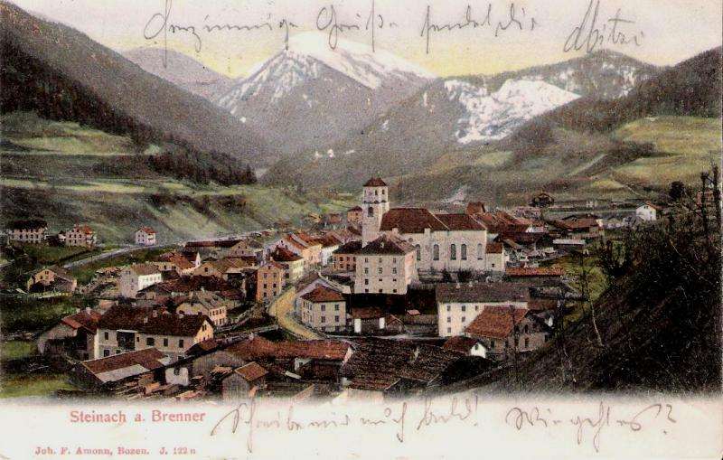 Alte Ansichten von Steinach - Mein Heimatort ganz nostalgisch Steina28
