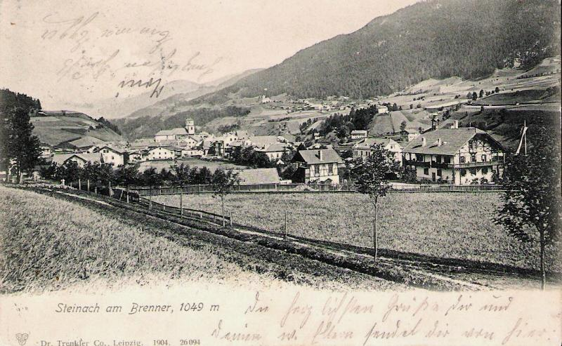 Alte Ansichten von Steinach - Mein Heimatort ganz nostalgisch Steina29