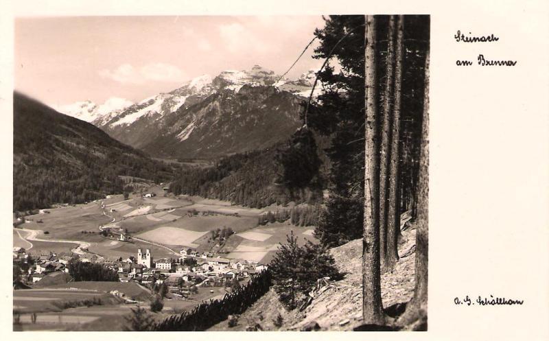 Alte Ansichten von Steinach - Mein Heimatort ganz nostalgisch Steina31