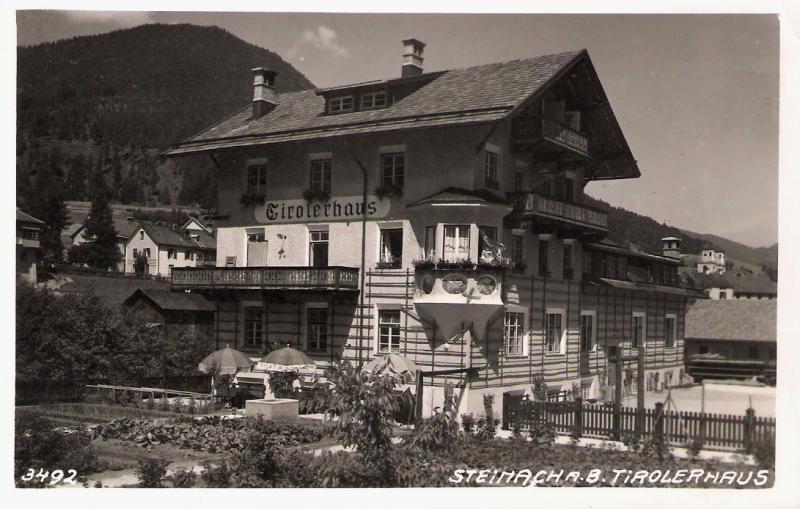 Alte Ansichten von Steinach - Mein Heimatort ganz nostalgisch Steina32