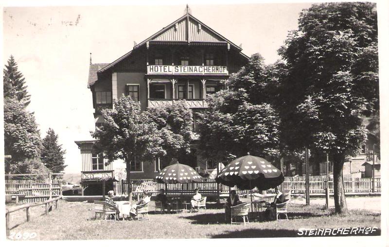 Alte Ansichten von Steinach - Mein Heimatort ganz nostalgisch Steina33