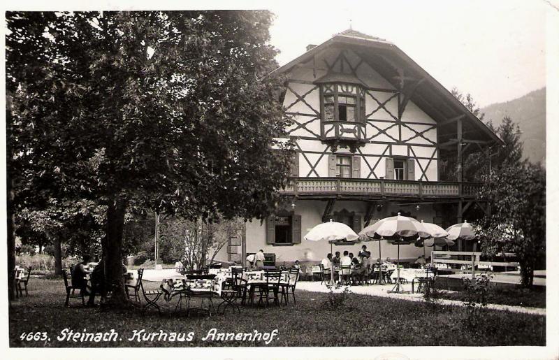 Alte Ansichten von Steinach - Mein Heimatort ganz nostalgisch Steina34