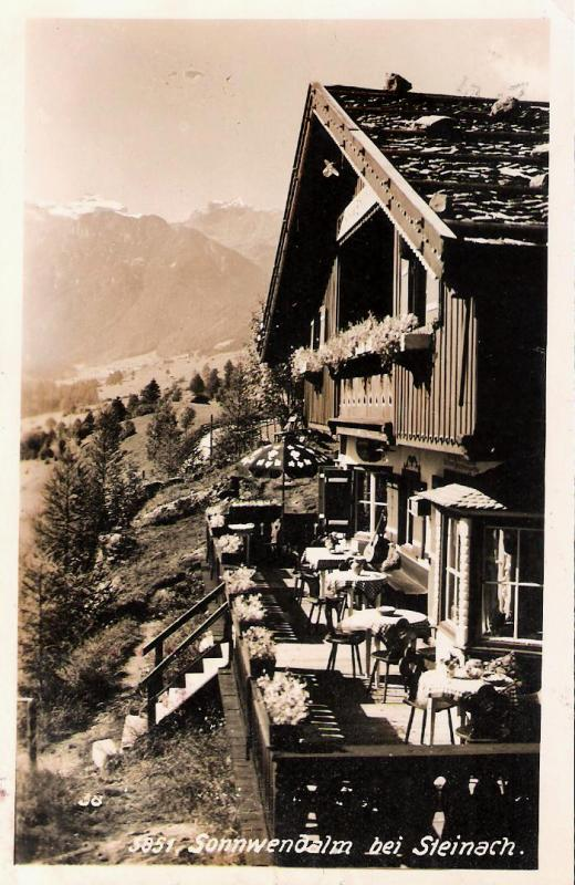 Alte Ansichten von Steinach - Mein Heimatort ganz nostalgisch Steina35