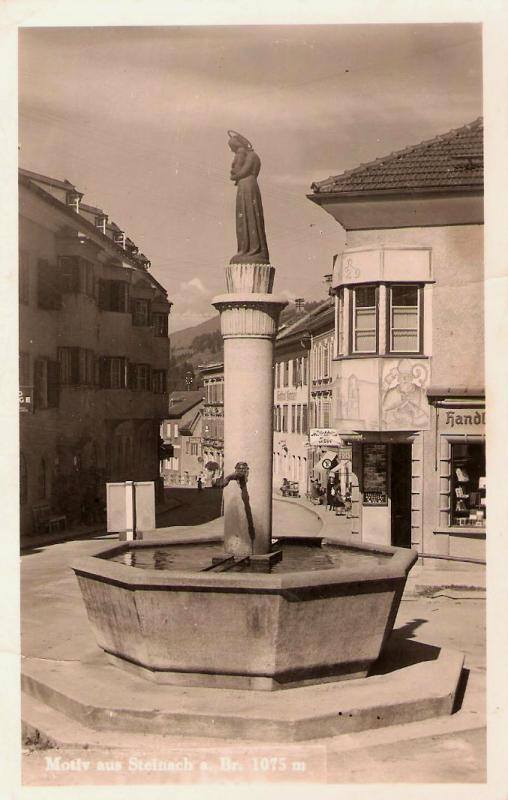 Alte Ansichten von Steinach - Mein Heimatort ganz nostalgisch Steina38
