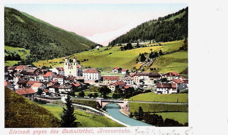 Alte Ansichten von Steinach - Mein Heimatort ganz nostalgisch Steina40