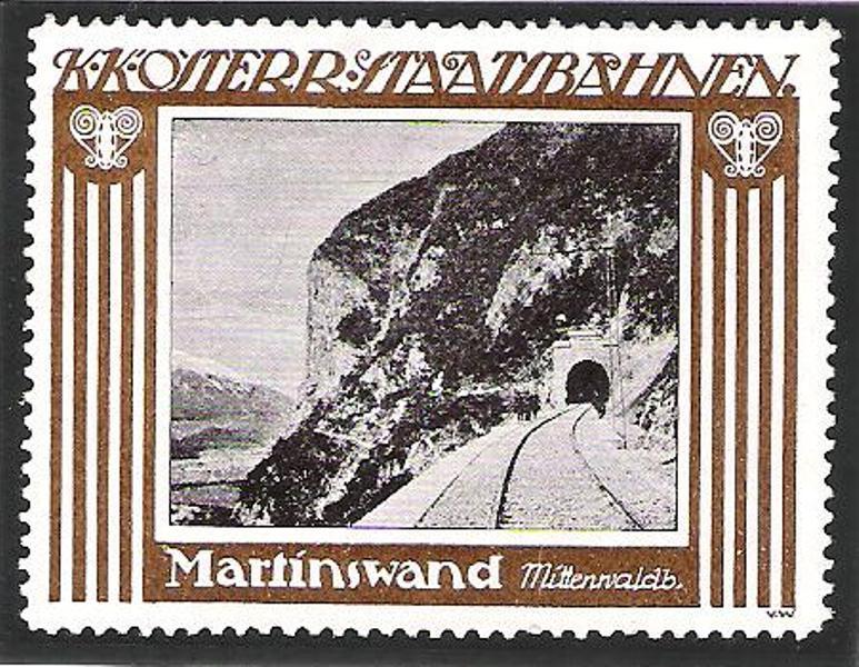 100 Jahre Mittenwaldbahn  Vignet10