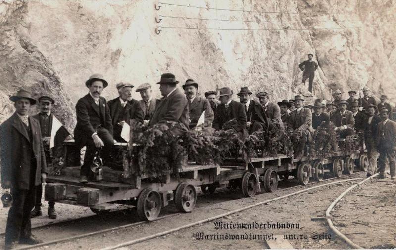 100 Jahre Mittenwaldbahn  Voelk610