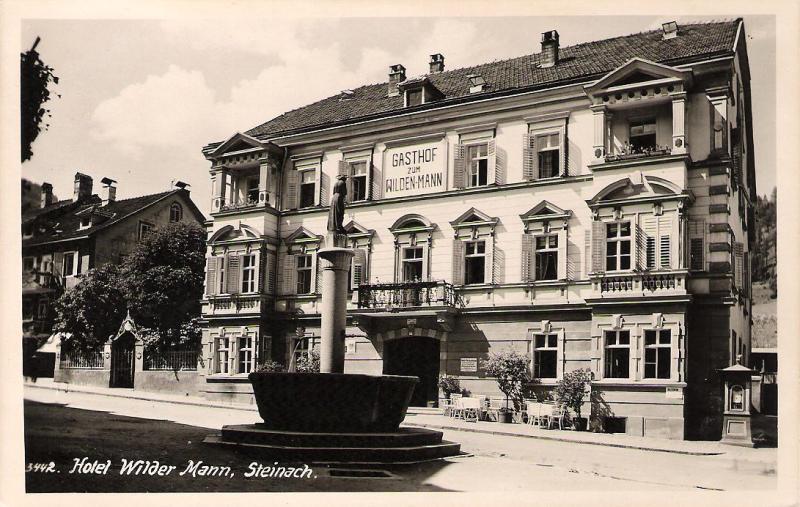 Alte Ansichten von Steinach - Mein Heimatort ganz nostalgisch Wilder10