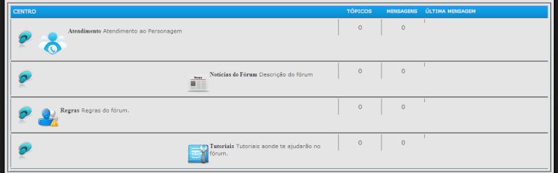 Organizando categorias como Forumeiros e você Forum10