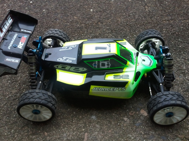 Mon projet Buggy 1/8 Asso RC8BE - Page 4 Photo017