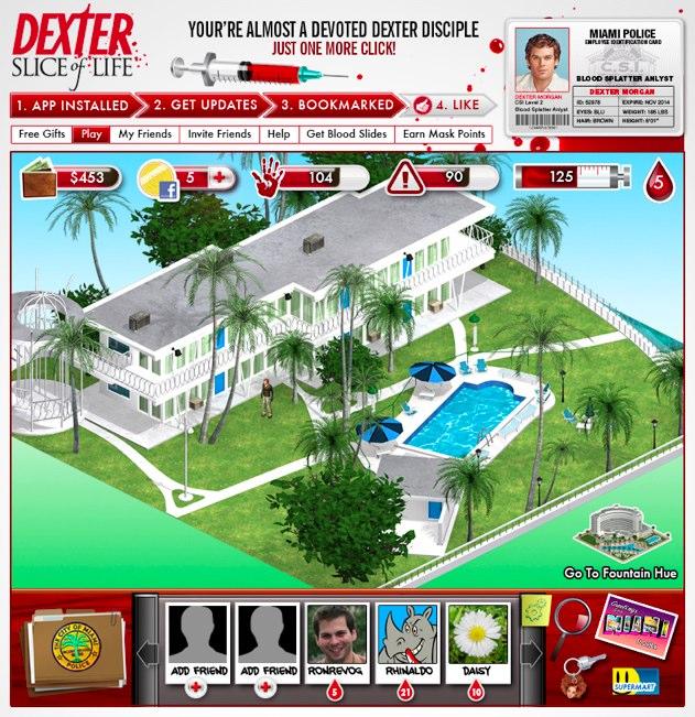 Un jeu Dexter sur Facebook pour bientôt !  Dexter10