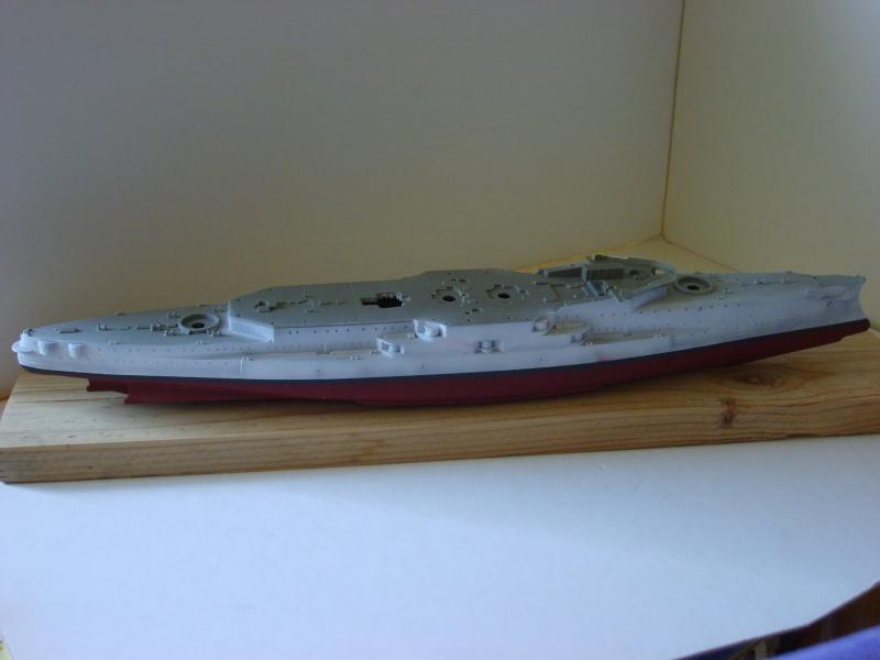 Croiseur SMS Scharnhorst Combrig + torpilleur Strérégutchy échelle 1/350è Debut des traveaux... S6001010