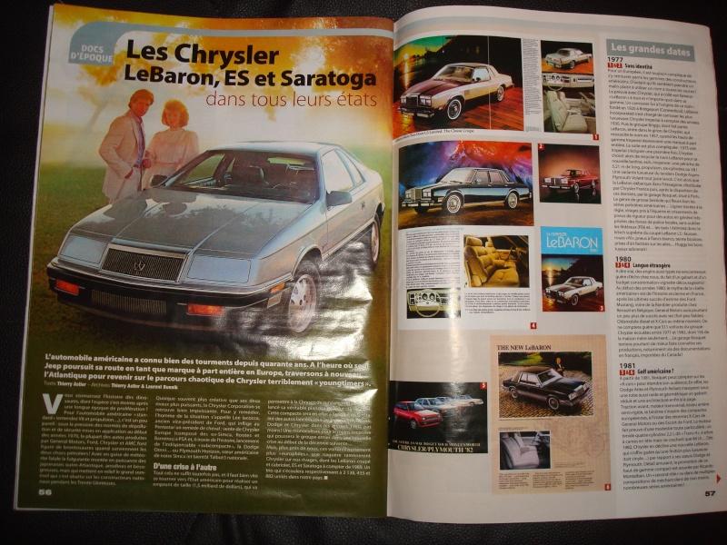 """Nos Chryslers dans le """"Youngtimers"""" de ce mois ci Dsc07116"""