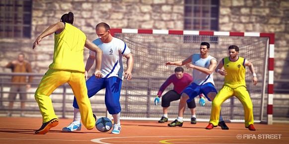 Análisis FIFA Street  Fifast11