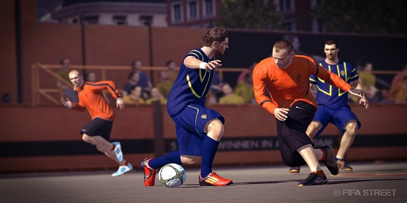 Análisis FIFA Street  Fifast12