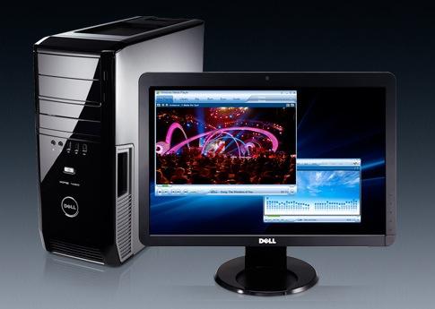 Máy vi tính gia đình Bán trả góp : trả trước 1.190.000 Dell-x11