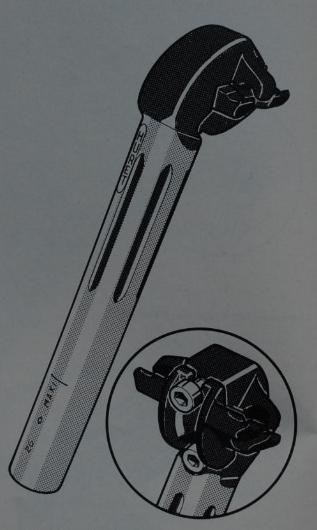 Super Vitus 971 Artisal de ~1978 Tige-d10