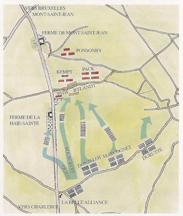 Pourquoi le sol du champ de bataille de Warterloo était boueux? 33320