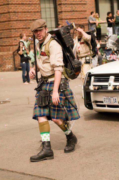 Boston-parade de la St-Patrick Kilt10