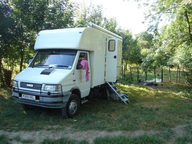 Iveco 4x4 camper Graeme11
