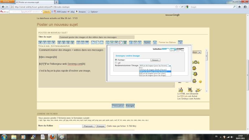 [Mode d'emploi] Comment insérer une image Ecran_12