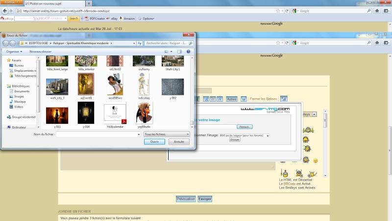 [Mode d'emploi] Comment poster des images et des vidéos dans vos messages Ecran_13