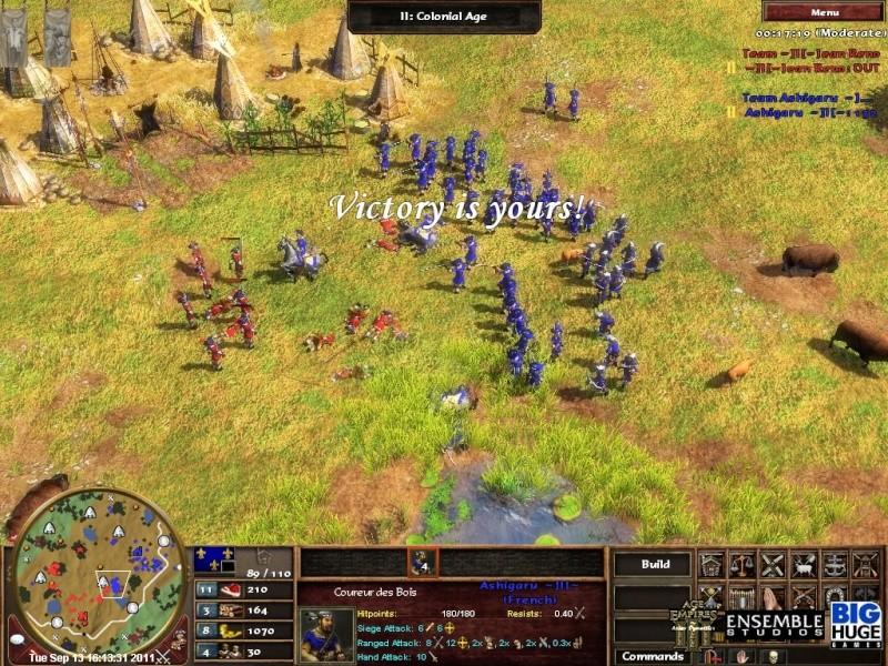 GAME NO. 2 ASHIGARU VS JEAN RENO Screen35