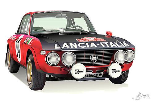 Galleria d'arte Lancia Fulvia Lancia12